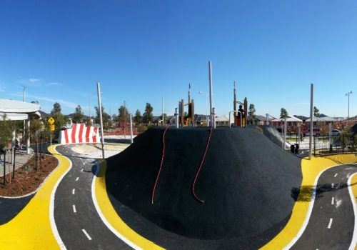 Pit Stop Playground, Banksia Grove, WA