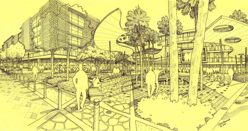 6.Karratha-Town-Centre_Australand-Karratha-4a-Civic-Square-New-Built-form
